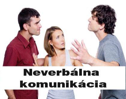 neverbalna komunikacia